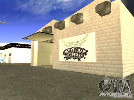 [HD] red de garajes mijuego Autos para GTA San Andreas quinta pantalla