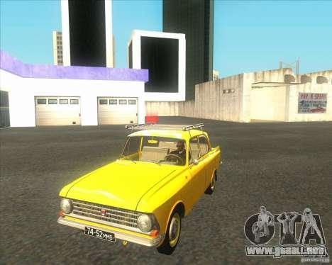 Moskvich 408 para GTA San Andreas left