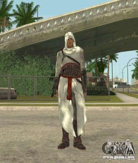 Assassins skins para GTA San Andreas quinta pantalla