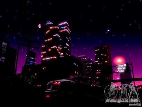 Cielo estrellado V 2.0 (un jugador) para GTA San Andreas
