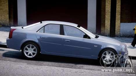 Cadillac CTS-V para GTA 4 left