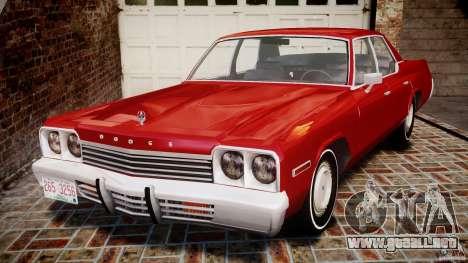 Dodge Monaco 1974 para GTA 4