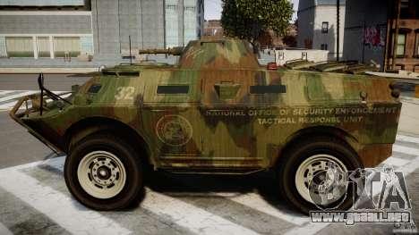 Camo APC para GTA 4 left