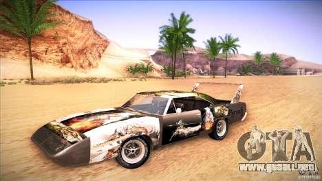 Plymouth Roadrunner Superbird Custom para la visión correcta GTA San Andreas
