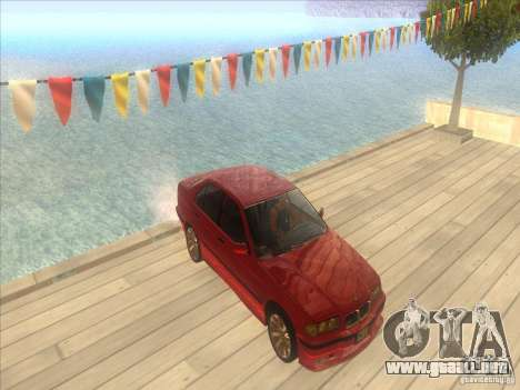 BMW E36 para la vista superior GTA San Andreas