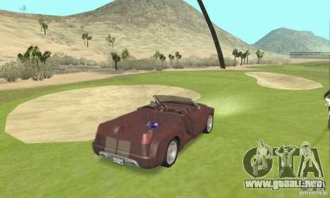 Dodge Sidewinder Concept 1997 para GTA San Andreas left