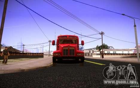 Kenworth T600 para la vista superior GTA San Andreas