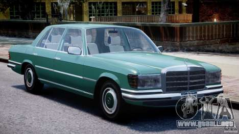 Mercedes-Benz 280SE W116 para GTA 4 left