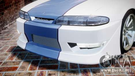 Nissan Silvia S14 [EPM] para GTA 4 ruedas