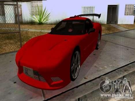 Chevrolet Corvette C5 para GTA San Andreas