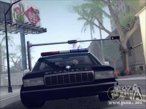New Police LSPD para GTA San Andreas left