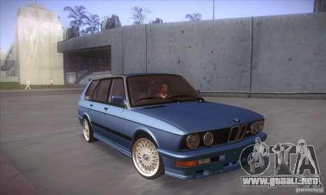 BMW E28 Touring para visión interna GTA San Andreas