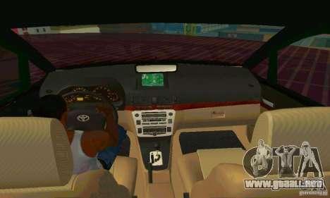 Toyota Innova Lowrider Rims 2 para visión interna GTA San Andreas