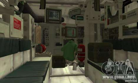 Stryker para vista lateral GTA San Andreas