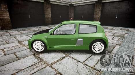 Renault Clio V6 para GTA 4 left