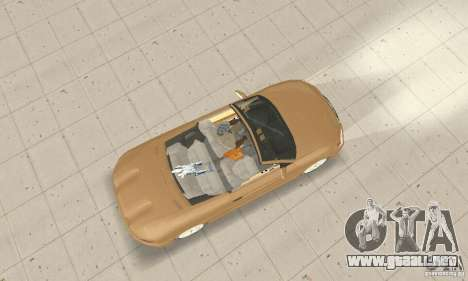 Chrysler Cabrio para la visión correcta GTA San Andreas