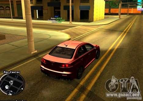ENBSeries para PC débil para GTA San Andreas segunda pantalla