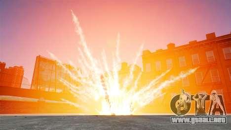 Explosiones grandes y realistas para GTA 4 segundos de pantalla