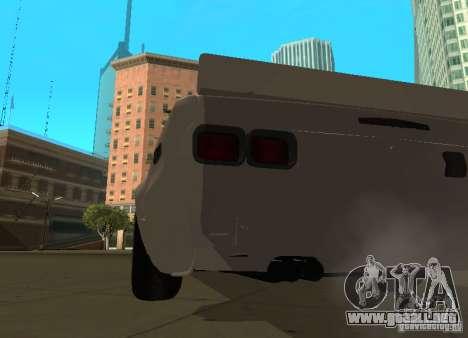Nissan Skyline 2000 GT-R para la visión correcta GTA San Andreas