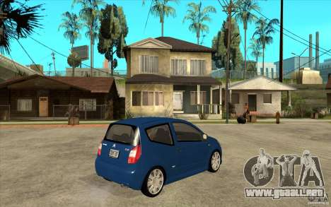 Citroen C2 - Stock para la visión correcta GTA San Andreas
