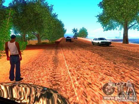 Controladores normales en la pista para GTA San Andreas segunda pantalla