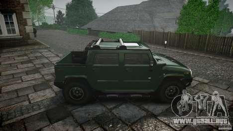 Hummer H2 para GTA 4 vista interior