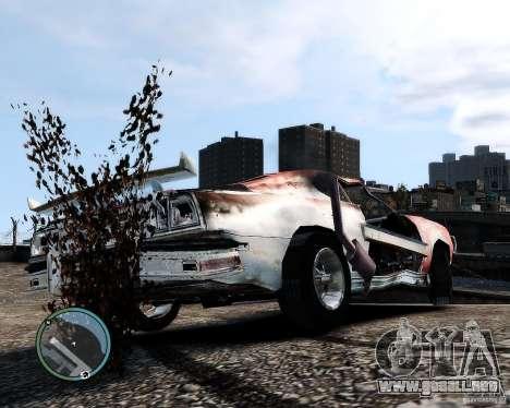 Flatout Shaker IV para GTA 4 Vista posterior izquierda