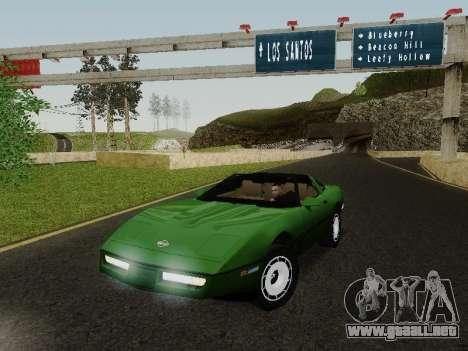 Chevrolet Corvette C4 1984 para GTA San Andreas