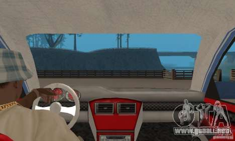 Toyota Carina 1996 para GTA San Andreas vista hacia atrás