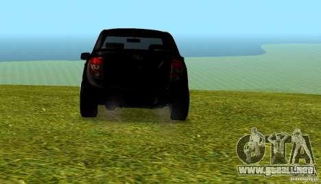 LADA Granta v2.0 para la visión correcta GTA San Andreas