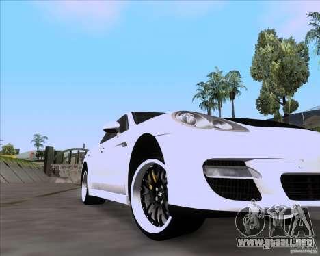 Porsche Panamera 970 Hamann para la visión correcta GTA San Andreas