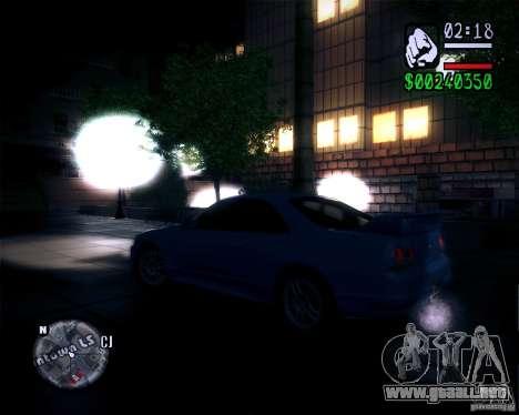 Nuevos gráficos en el juego 2011 para GTA San Andreas