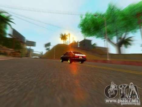 Toyota Corolla Carib AE86 para la visión correcta GTA San Andreas