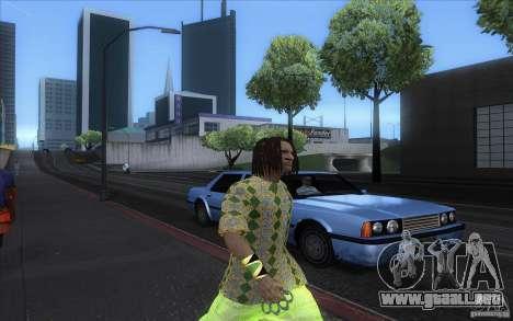 Rasta ped para GTA San Andreas sucesivamente de pantalla
