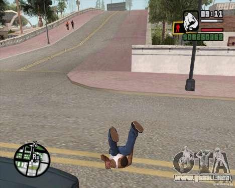 GTA 4 Anims for SAMP v2.0 para GTA San Andreas octavo de pantalla