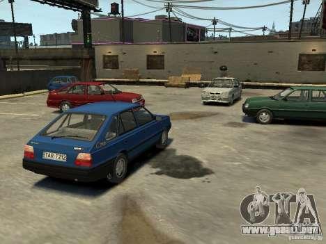 FSO Polonez Caro para GTA 4 vista desde abajo