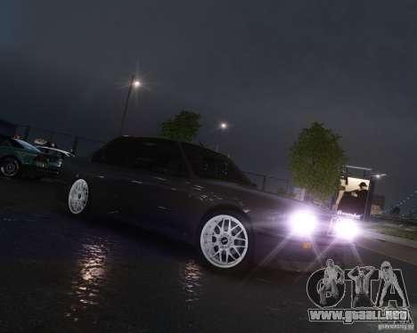 BMW M3 E30 para GTA 4 Vista posterior izquierda