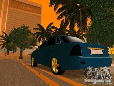 LADA Priora oro 2170 Edition para el motor de GTA San Andreas