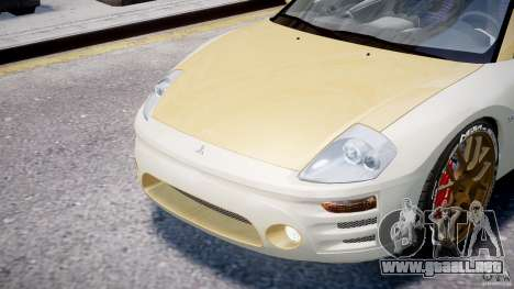Mitsubishi Eclipse GTS Coupe para GTA 4 vista lateral