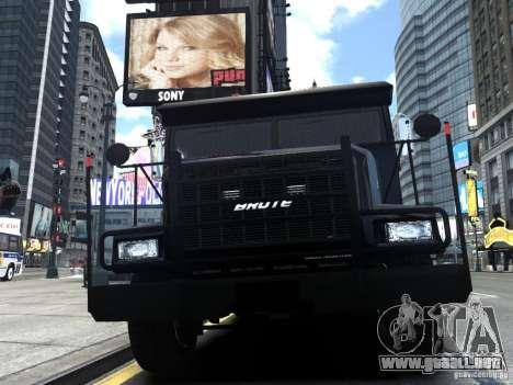 SWAT - NYPD Enforcer V1.1 para GTA 4 vista interior