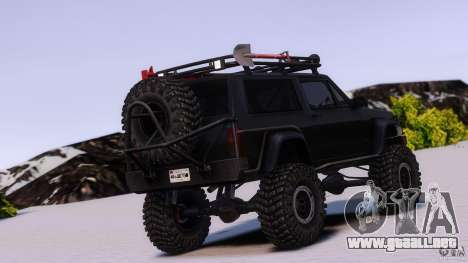 Jeep Cheeroke SE v1.1 para GTA 4 left