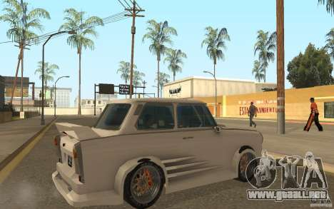 Trabant 601S Tuning para la visión correcta GTA San Andreas