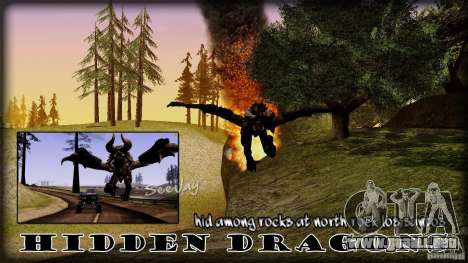 Hidden Dragon para GTA San Andreas
