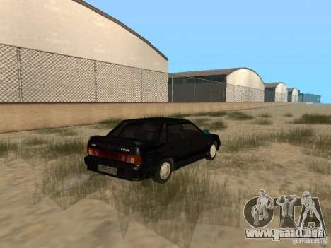Vaz 2115 luz Tun v. 1.1 para GTA San Andreas