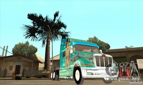 Peterbilt 387 piel 4 para visión interna GTA San Andreas