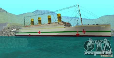 HMHS Britannic para GTA San Andreas