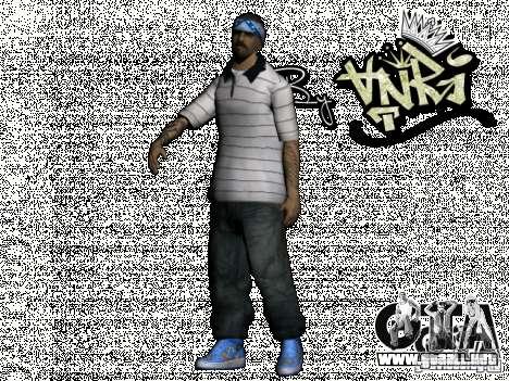Gagns skinpack by AnRi para GTA San Andreas octavo de pantalla