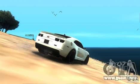 ENB by rybamolot para GTA San Andreas sucesivamente de pantalla