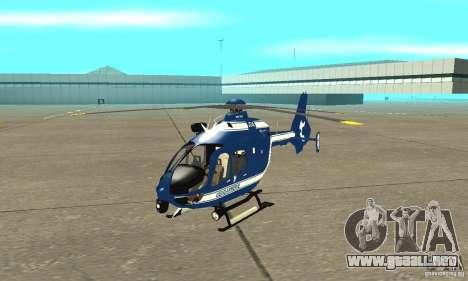 EC-135 Gendarmerie para GTA San Andreas left