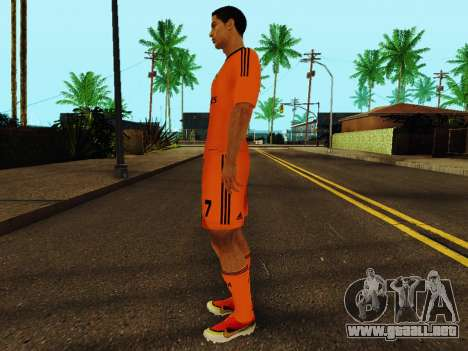 Cristiano Ronaldo v3 para GTA San Andreas tercera pantalla